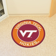 FANMATS NCAA Virginia Tech Roundel Mat
