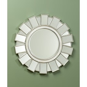 AA Importing Round Accent Wall Mirror
