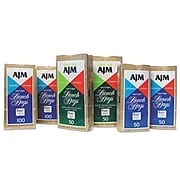 """AJM Packaging Paper 10.63""""H x 5.13""""W x 3.13""""D Standard Lunch Bags, Brown, 1200/Pack"""