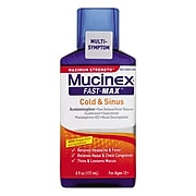 Mucinex® Maximum Strength Fast Max Cold & Sinus, 6 oz. Bottle