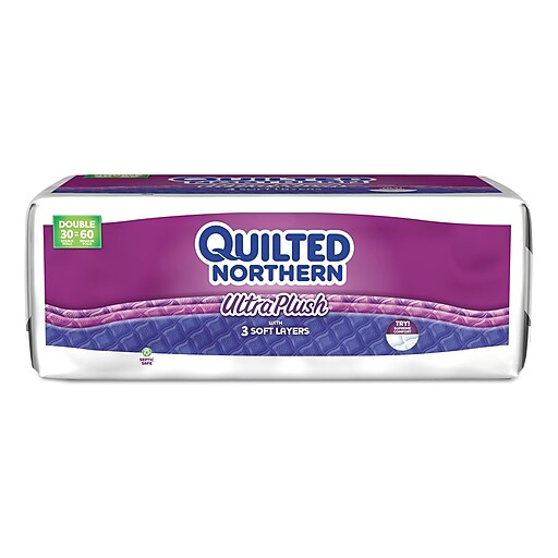 Quilted Northern Ultra Plush Bathroom Tissue 3 Ply White 30