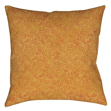 Manual Woodworkers & Weavers Zinnia Damask Printed Throw Pillow; 20'' H x 20'' W x 5'' D