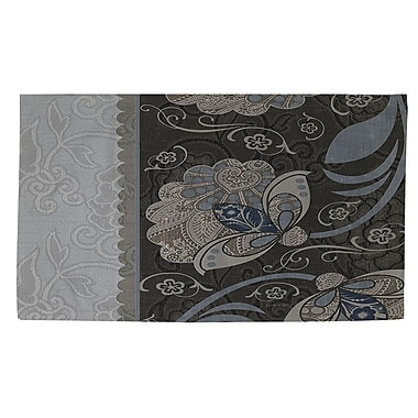 Manual Woodworkers & Weavers Elegante 4 Gray Area Rug; 4' x 6'