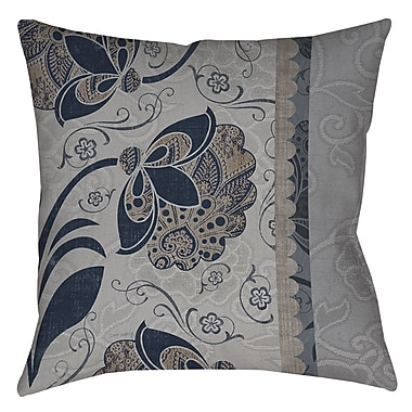 Manual Woodworkers & Weavers Elegante 5 Indoor/Outdoor Throw Pillow; 18'' H x 18'' W x 5'' D