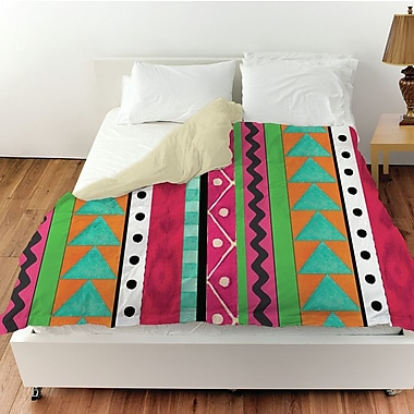 Manual Woodworkers & Weavers Boho Medallion Square Duvet Cover; Twin