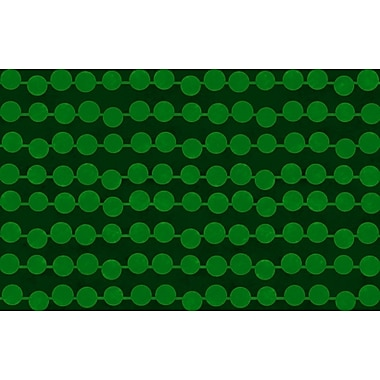 Manual Woodworkers & Weavers Line Dots Emerald Rug; 5'10'' x 4'4''
