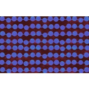 Manual Woodworkers & Weavers Line Dots Bright Rug; 5'10'' x 4'4''
