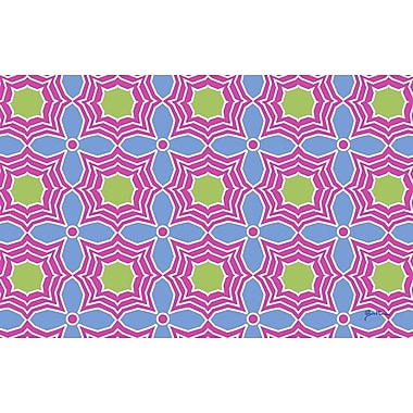 Manual Woodworkers & Weavers Amina Star Pink Area Rug; 5'10'' x 4'4''