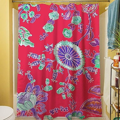 Manual Woodworkers & Weavers Anima Outline Shower Curtain