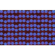 Manual Woodworkers & Weavers Line Dots Bright Rug; 3'1'' x 1'10.5''