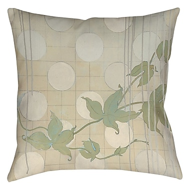 Manual Woodworkers & Weavers Summer Vine 2 Printed Throw Pillow; 16'' H x 16'' W x 4'' D