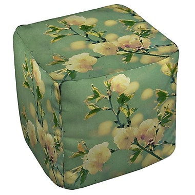 Manual Woodworkers & Weavers Vintage Botanicals 4 Ottoman
