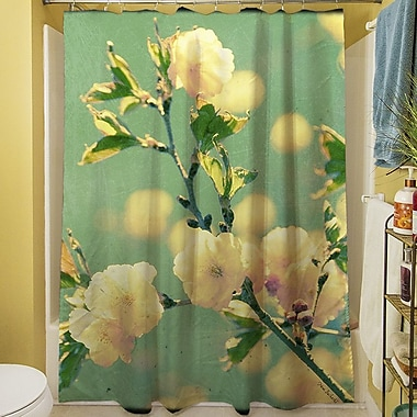 Manual Woodworkers & Weavers Vintage Botanicals IV Shower Curtain
