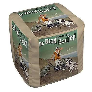 Manual Woodworkers & Weavers Cycles De Doin Bouton Ottoman