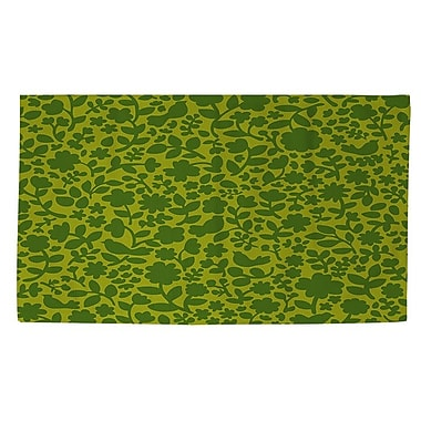 Manual Woodworkers & Weavers Ambrose Green Area Rug; 4' x 6'