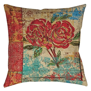 Manual Woodworkers & Weavers Valencia 2 Printed Throw Pillow; 14'' H x 14'' W x 3'' D