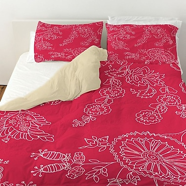 Manual Woodworkers & Weavers Anima Outline Duvet Cover; Queen