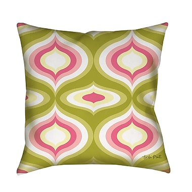 Manual Woodworkers & Weavers Britney Geo Printed Throw Pillow; 20'' H x 20'' W x 5'' D