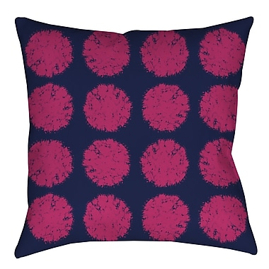 Manual Woodworkers & Weavers Pod Dots Printed Throw Pillow; 20'' H x 20'' W x 5'' D