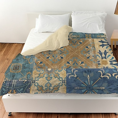 Manual Woodworkers & Weavers Moroccan Patchwork Duvet Cover; Queen