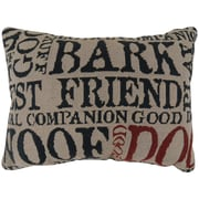Park B Smith Ltd Vintage House Good Dog Tapestry Decorative Lumbar Pillow