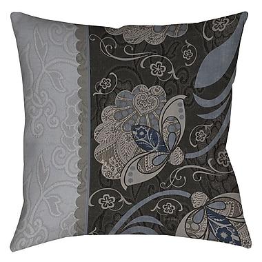 Manual Woodworkers & Weavers Elegante 4 Printed Throw Pillow; 16'' H x 16'' W x 4'' D