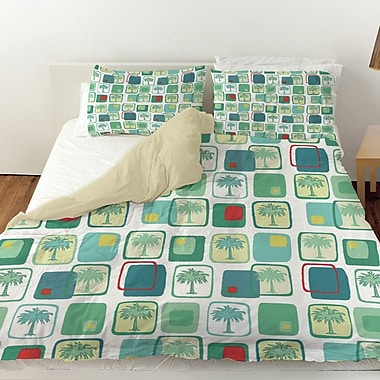Manual Woodworkers & Weavers Deco Palm Duvet Cover; Twin