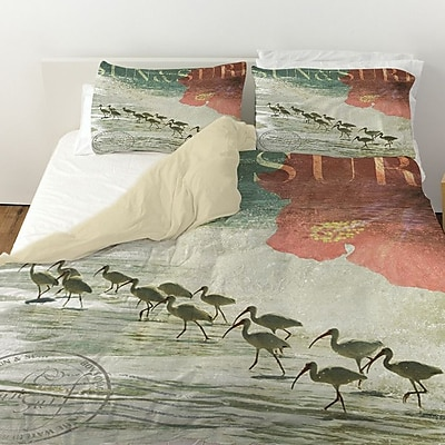 Manual Woodworkers & Weavers Sun and Surf Duvet Cover; King
