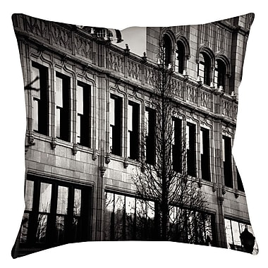 Manual Woodworkers & Weavers Urban Fa ade Indoor/Outdoor Throw Pillow; 16'' H x 16'' W x 4'' D