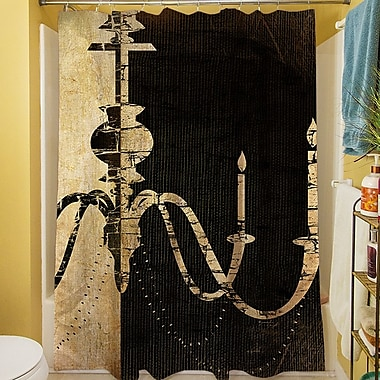 Manual Woodworkers & Weavers Chandelier I Shower Curtain