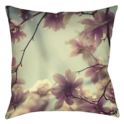 Manual Woodworkers & Weavers Daydream Believers Printed Throw Pillow; 14'' H x 14'' W x 3'' D