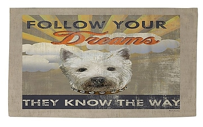 Manual Woodworkers & Weavers Dog Days - Pek Pup Area Rug; 4' x 6'