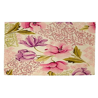 Manual Woodworkers & Weavers Tulips and Lace Area Rug; 4' x 6'