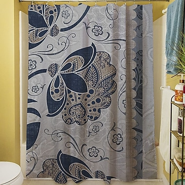Manual Woodworkers & Weavers Elegante V Shower Curtain