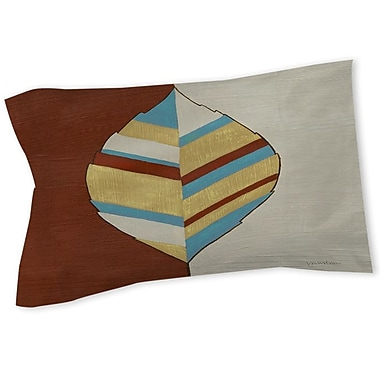 Manual Woodworkers & Weavers Apache Leaf 1 Sham; Queen/King