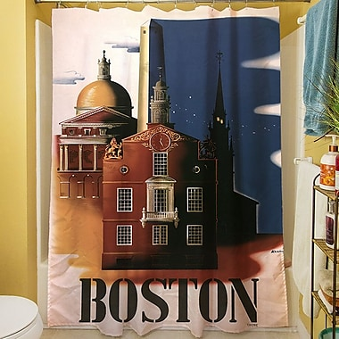 Manual Woodworkers & Weavers Boston Architecture Shower Curtain