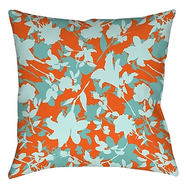 Manual Woodworkers & Weavers Chloe Floral 5 Printed Throw Pillow; 14'' H x 14'' W x 3'' D