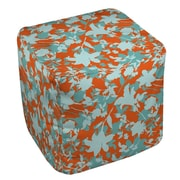 Manual Woodworkers & Weavers Chloe Floral 5 Ottoman