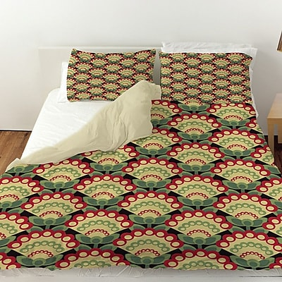 Manual Woodworkers & Weavers Tropical Breeze Patterns 35 Duvet Cover; King
