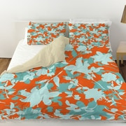Manual Woodworkers & Weavers Chloe Floral 5 Duvet Cover; Twin