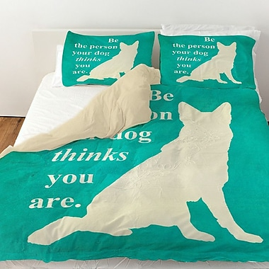 Manual Woodworkers & Weavers Be the Person Your Dog Thinks You Are Duvet Cover; Twin
