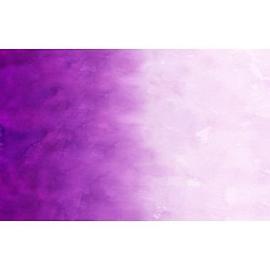 Manual Woodworkers & Weavers Ombre Purple Area Rug; 3'1'' x 1'10.5''