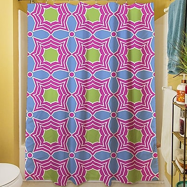 Manual Woodworkers & Weavers Amina Star Shower Curtain