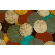 Manual Woodworkers & Weavers Circumlocution Multi Rug; 5'10'' x 4'4''