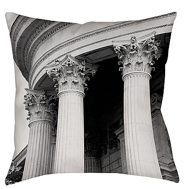 Manual Woodworkers & Weavers A Travers Paris III Printed Throw Pillow; 18'' H x 18'' W x 5'' D
