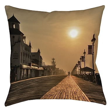 Manual Woodworkers & Weavers Boardwalk Sunrise Printed Throw Pillow; 20'' H x 20'' W x 5'' D