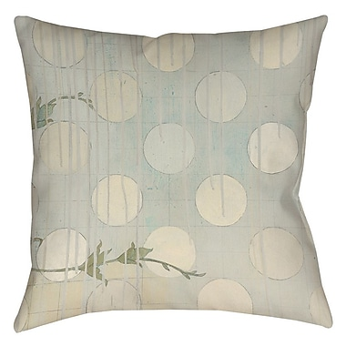 Manual Woodworkers & Weavers Summer Vine 3 Printed Throw Pillow; 14'' H x 14'' W x 3'' D