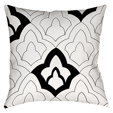 Manual Woodworkers & Weavers Divisible 1 Printed Throw Pillow; 14'' H x 14'' W x 3'' D