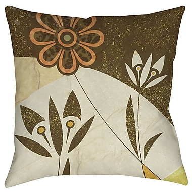 Manual Woodworkers & Weavers Graphic Garden Savannah Printed Throw Pillow; 16'' H x 16'' W x 4'' D