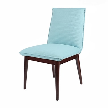 New Pacific Direct Lara Arm Chair (Set of 2); Turquoise Arrow